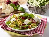 Nudeln mit grünen Bohnen Rezept