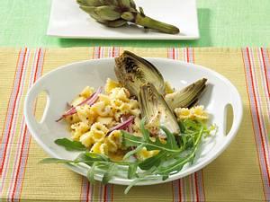 Nudelsalat mit Artischocken (Diät) Rezept