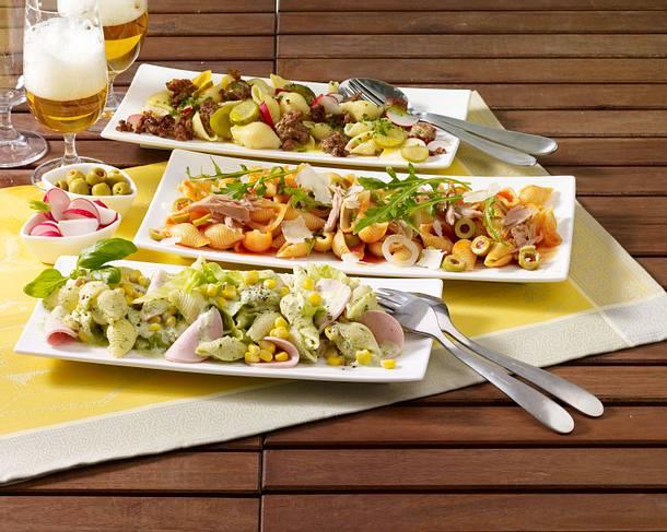 Nudelsalat mit Fleischwurst Rezept