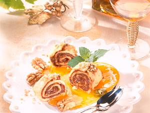 Nuß-Nougat-Crêpes Rezept