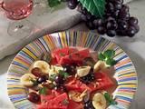 Obstsalat mit Melone Rezept