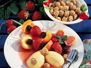 Obstspieße Rezept