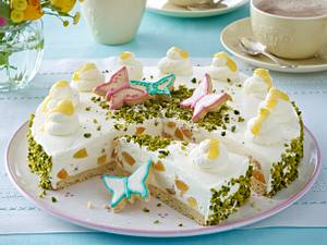Österliche Aprikosen-Mascarpone-Torte Rezept