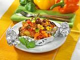 Ofenkartoffeln mit Chili con Carne Rezept