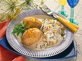 Ofenkartoffeln mit Matjes Rezept