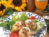 Ofenkartoffeln mit Schinken-Pilz-Soße Rezept