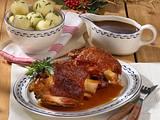 Oktoberfest: Schweinshaxe mit Knödeln Rezept