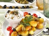 Oliven-Dip zu Kartoffeln Rezept