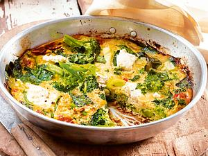 Omelett für zwei mit Ricotta Rezept