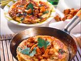 Omelett mit Pfifferlingen Rezept