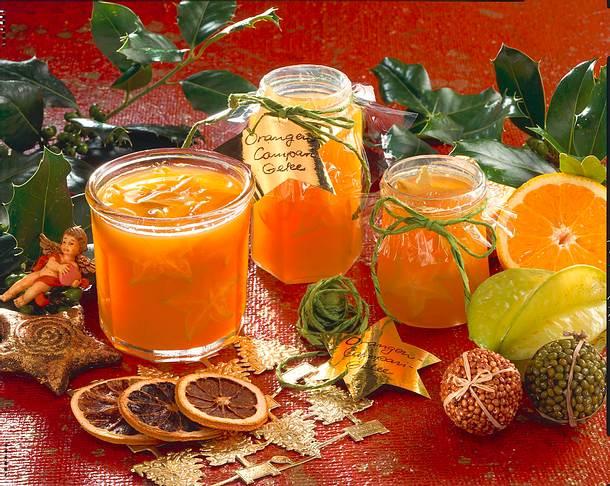 Orangen-Campari-Gelee Rezept