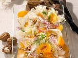 Orangen-Fenchel-Salat mit Walnüssen Rezept