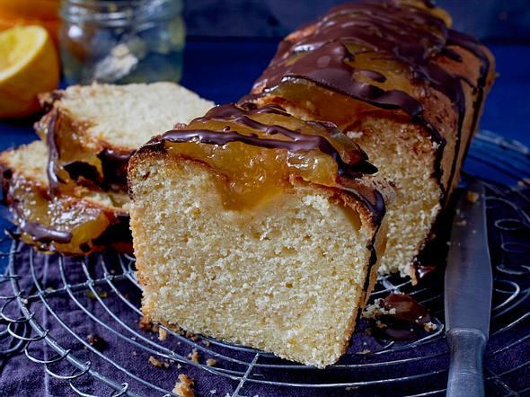 Orangen-Jaffa-Kastenkuchen Rezept