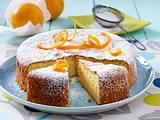 Orangen-Mandel-Kuchen Rezept