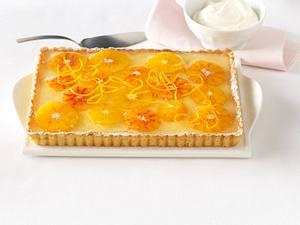 Orangen-Maracuja-Tarte Rezept