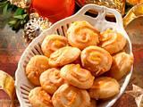 Orangen-Marzipan-Taler Rezept