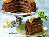 Orangen-Schokoladen-Torte Rezept