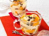 Orangen-Stracciatella-Becher Rezept