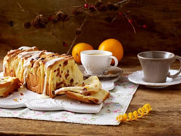 Orangen-Sultaninen-Brot Rezept