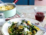 Orecchiette mit Brokkoli und Rucola Rezept