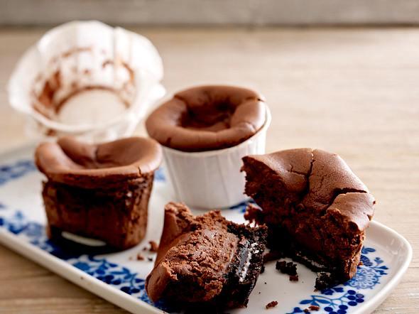 Oreo Choco Cheese Cupcakes Rezept