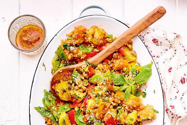 Orientalischer Röstkartoffelsalat Rezept
