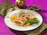 Orientalisches Hähnchen mit Pistazienreis  Rezept
