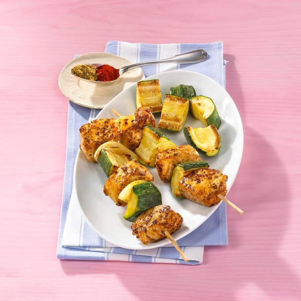 Orientalisches Hähnchenkebab Rezept