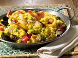 Paella de marisco (Meeresfrüchte-Paella) Rezept