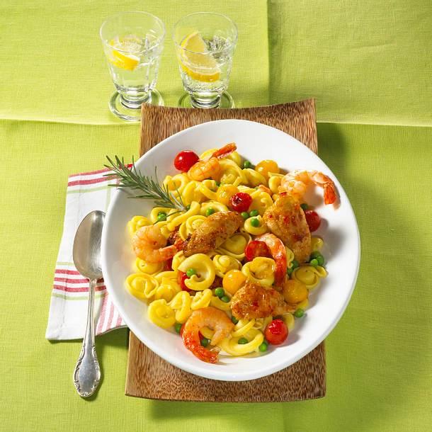 Paella-Nudeln Rezept