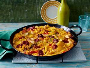 Paella-Tortilla Rezept