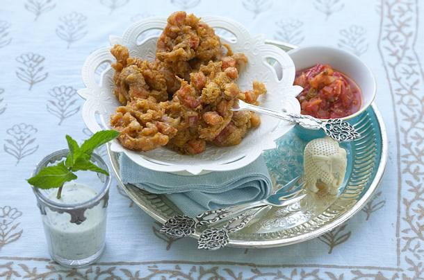 Pakora - gebackenes Gemüse Rezept