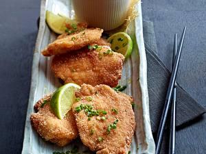 Panierte Chicken–Nuggets mit Dip Rezept