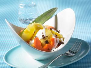 Papaya-Ananas-Salat mit Joghurt Rezept