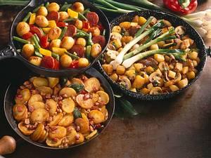 Paprika-Kartoffel-Pfanne Rezept