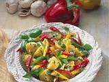 Paprika-Kartoffel-Salat Rezept