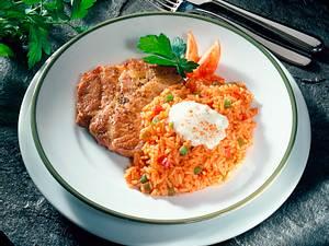Paprika-Reis mit Nackenkotelett Rezept