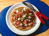 Paprika-Schafskäse-Salat Rezept