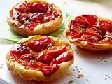Paprika-Tarte-Tatin Rezept
