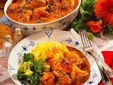 Paprika-Zwiebel-Gulasch Rezept
