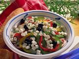 Paprika-Zwiebel-Salat Rezept