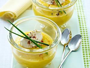 Paprikacreme mit Frischkäse und Schnittlauch Rezept