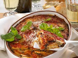 Parmigiana di Melanzane (Auberginenauflauf) Rezept