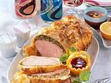 Partysonne mit Mett & Kräuterbutter Rezept