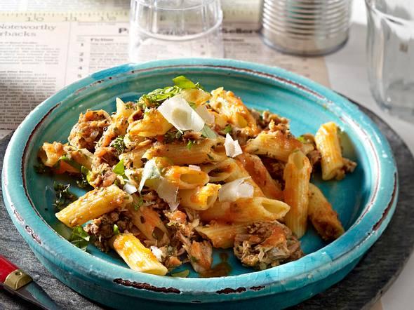 Pasta nach sardischer Art Rezept