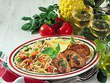 Pasta-Salat mit Schnitzel Rezept