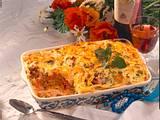 Pastizio makaronia (Makkaroni-Auflauf mit Hackfleisch) Rezept