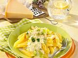 Penne in Käsesoße Rezept