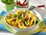 Penne mit Broccoli, Speck und Sardellenfilets Rezept