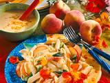 Penne-Pfirsich-Salat Rezept